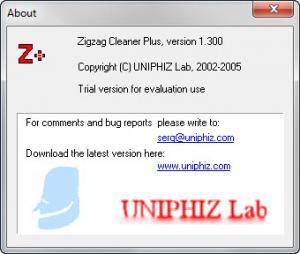 Enlarge Zigzag Cleaner Plus Screenshot