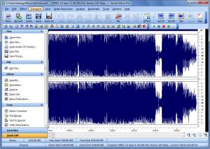 Enlarge Sound Editor Pro Screenshot