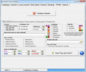 Enlarge InsideCAT Lite Edition Screenshot
