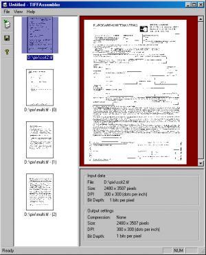Enlarge TIFF Assembler Screenshot