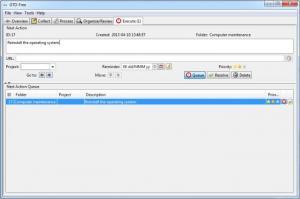 Enlarge GTD-Free Screenshot