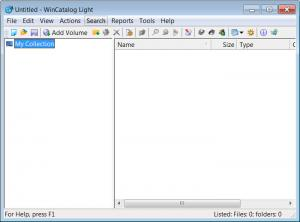 Enlarge WinCatalog Light Screenshot