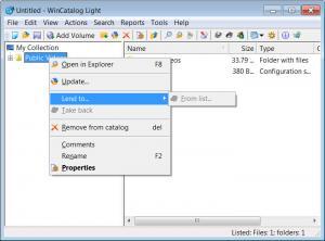 Enlarge WinCatalog Light Screenshot