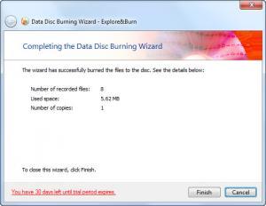 Enlarge Explore&Burn Screenshot