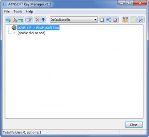 Enlarge KeyManager Screenshot