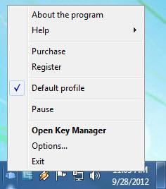 Enlarge KeyManager Screenshot