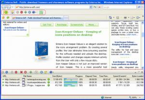 Enlarge Enterra Download Manager Screenshot