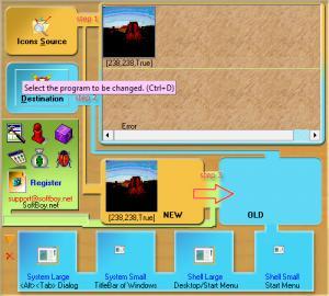 Enlarge Exe Icon Changer Screenshot