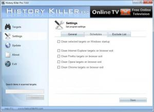 Enlarge History Killer Pro Screenshot