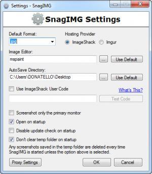 Enlarge SnagIMG Screenshot