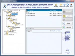 Enlarge DiskGetor Data Recovery Screenshot