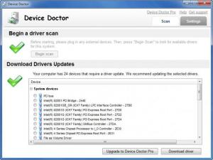 Enlarge Device Doctor Screenshot