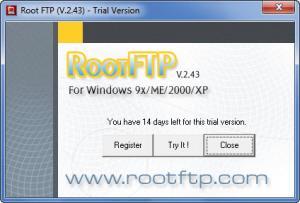Enlarge RootFTP Screenshot