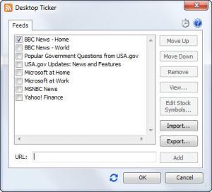 Enlarge Desktop Ticker Screenshot