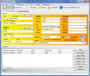 Enlarge MyContacts Screenshot