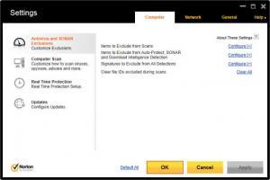 Enlarge Norton AntiVirus Screenshot