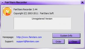Enlarge FairStars Recorder Screenshot