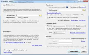 Enlarge SQLBackupAndFTP Screenshot