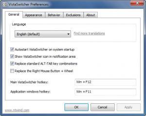 Enlarge VistaSwitcher Screenshot