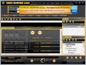 Enlarge AV Music Morpher Gold Screenshot