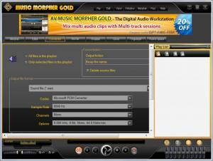 Enlarge AV Music Morpher Gold Screenshot