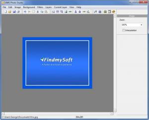 Enlarge AMS Photo Studio Screenshot
