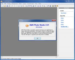Enlarge AMS Photo Studio Screenshot