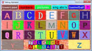 Enlarge Talking Alphabet Screenshot