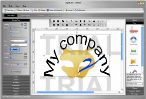 Enlarge LogoMaker Screenshot