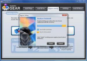 Enlarge Registry Gear Screenshot