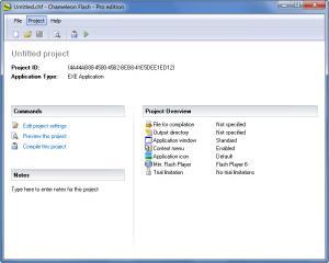 Enlarge Chameleon Flash Screenshot