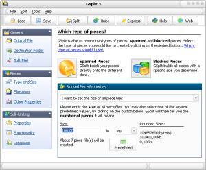 Enlarge GSplit Screenshot