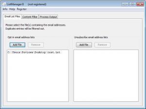 Enlarge ListManager Screenshot