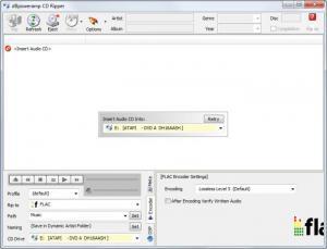 Enlarge  dBpoweramp Music Converter (dMC) Screenshot