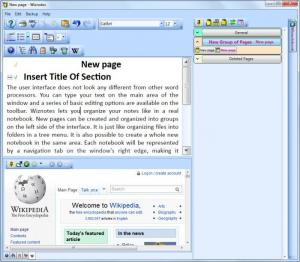 Enlarge Wiznotes Screenshot