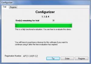 Enlarge Configurizer Screenshot