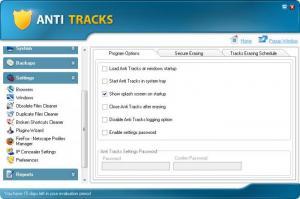 Enlarge Anti Tracks Screenshot