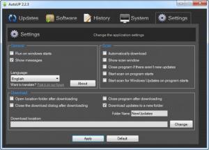 Enlarge AutoUp Screenshot