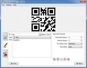 Enlarge Barcode Generator Screenshot