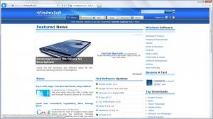 Enlarge Internet Explorer Screenshot