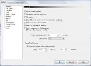 Enlarge Nihuo Web Log Analyzer Screenshot