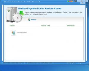 Enlarge WinMend System Doctor Screenshot