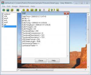 Enlarge Easy Watermark Creator Screenshot