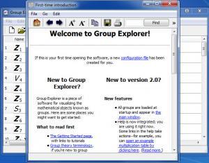Enlarge Group Explorer Screenshot