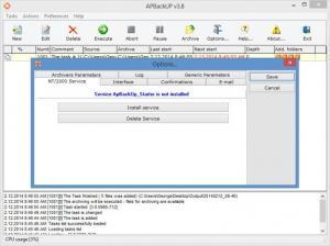 Enlarge APBackUp Screenshot