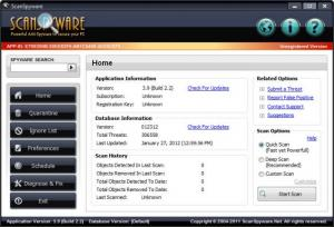 Enlarge ScanSpyware Screenshot