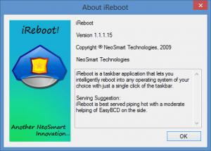 Enlarge iReboot Screenshot