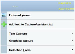 Enlarge Capture Assistant Screenshot