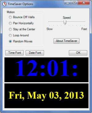Enlarge TimeSaver Screenshot