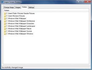 Enlarge Logon Screen Rotator Screenshot